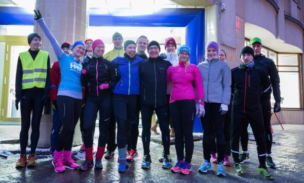 Adidas Day Final - Ryhmäkuva juoksijoista