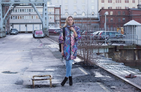 Vilma P blogger for Lindex